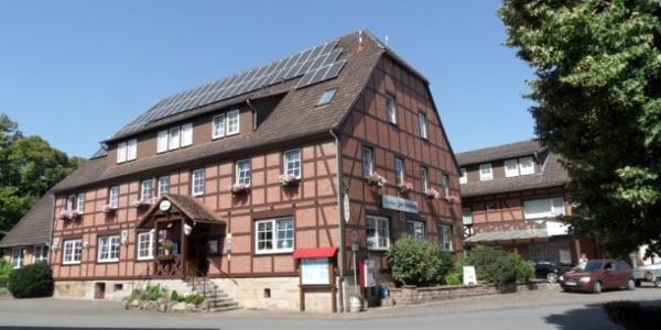 Hausansicht Gasthaus Zur Harburg e.K.