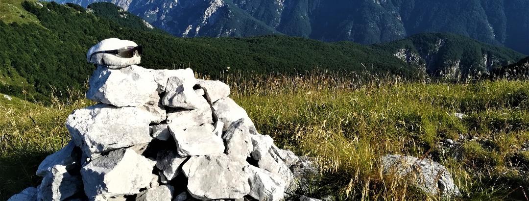 Blick von der Punta di Montemaggiore zum Monte Zaiavor, dem östlichsten Teil der Cime del Monte Musi-Gebirgsgruppe