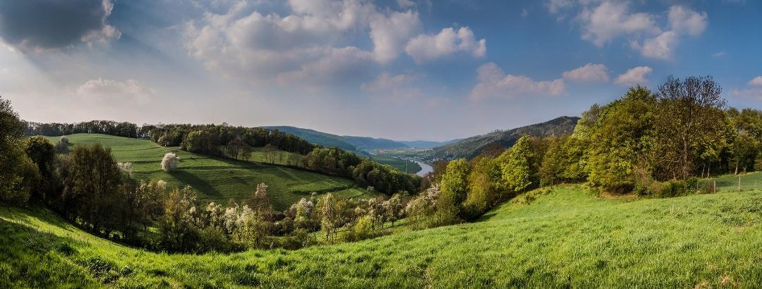 Ausblick Rühle in der Solling-Vogler-Region