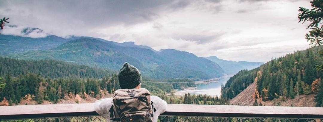 Nothing better than admiring nature of British Columbia