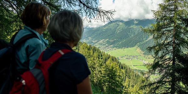 Bergwanderung mit wunderbaren Aussichten