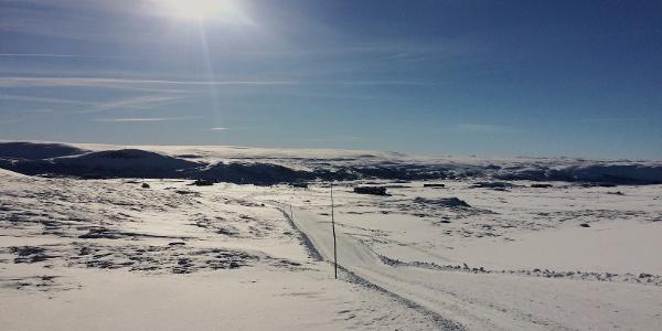 North of Ustaoset, view towards Hardangervidda