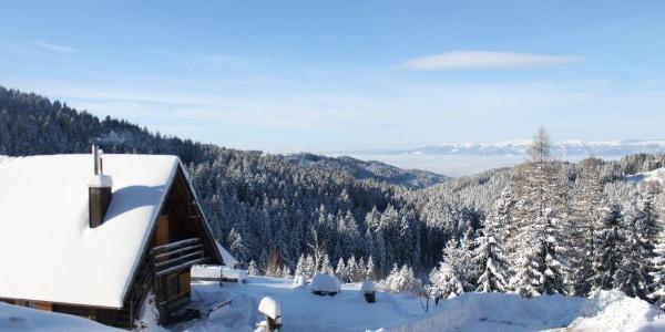 Jagahütte Winter