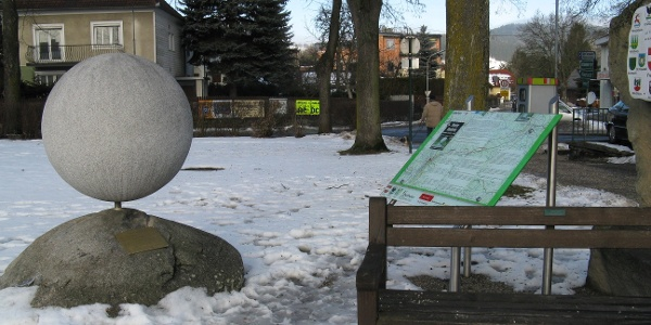 Wanderstein Freistadt im Winter