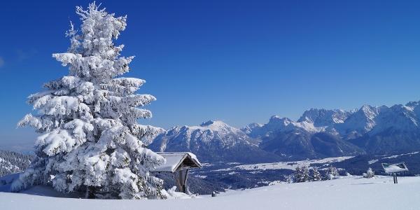 Skitour auf den Wank