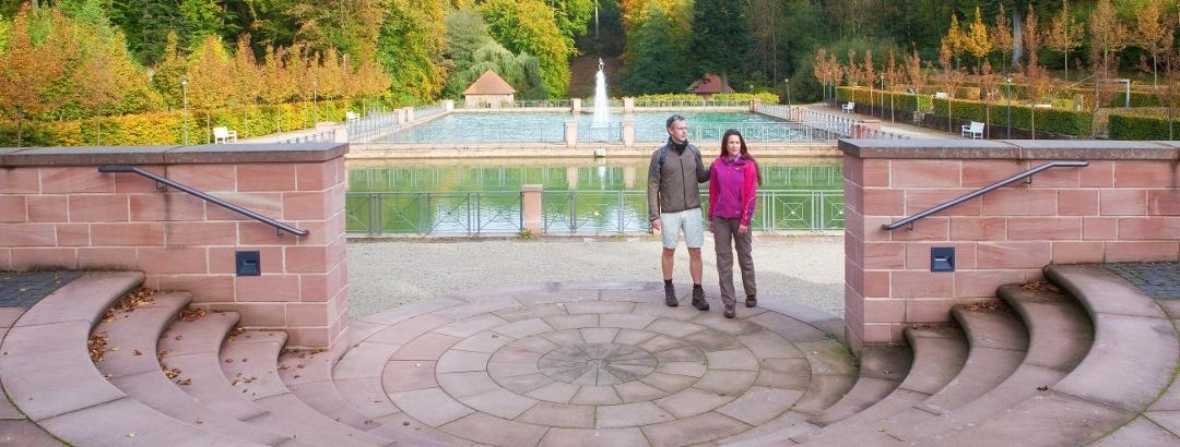 Freitreppe barockes Gartendenkmal Tschifflick