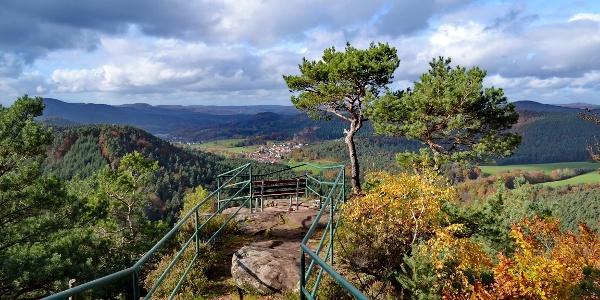Aussicht vom Löffelsberg