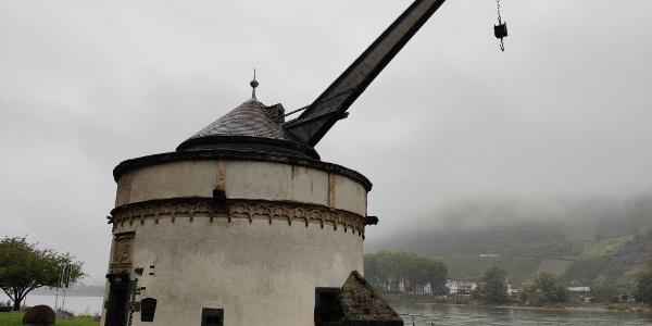 Andernach - Historischer Kran