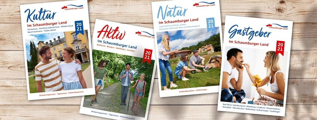 Broschüren Schaumburger Land 2021