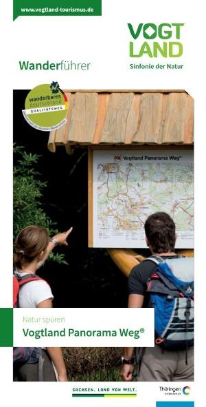 Titelbild Wanderführer Vogtland Panorama Weg®