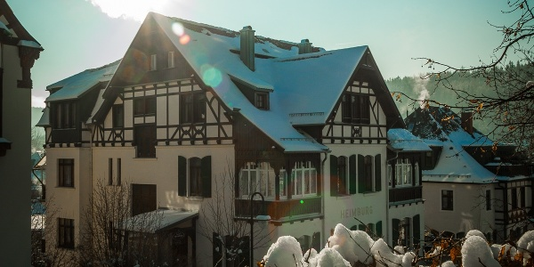 Winter Hotel-Pension Heimburg