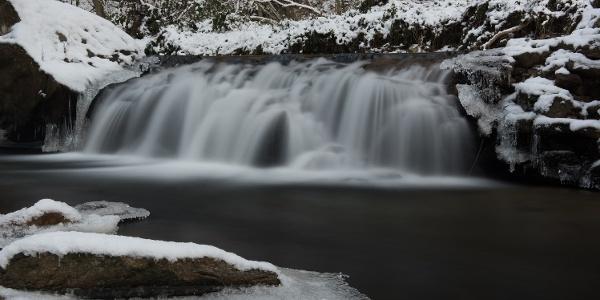 Atemberaubende Laßnitz im Winter