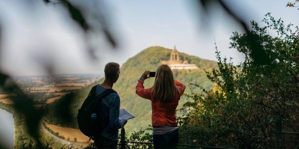Aussicht auf das Kaiser Wilhelm Denkmal