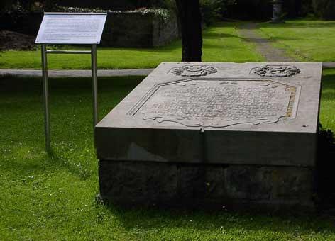 Johann Christoph Friedrich Bach Grabstätte