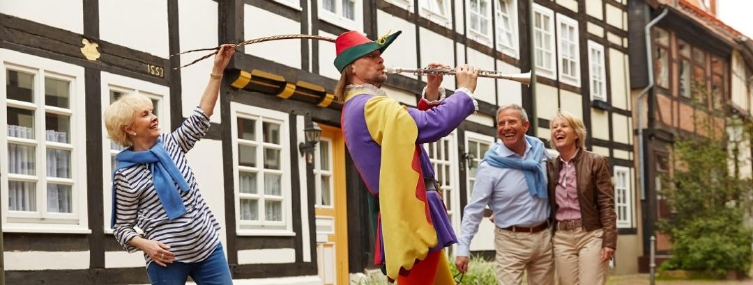 Stadtführung der besonderen Art in Hameln