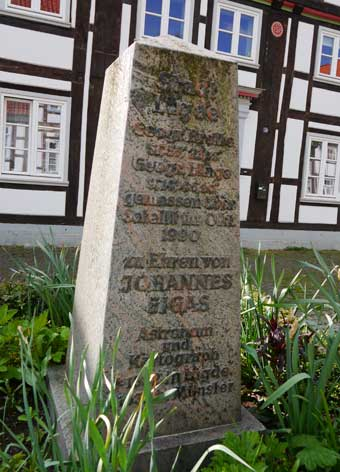 Johannes Gigas Denkmal