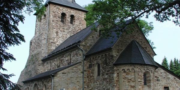 romanische Kirche Kircheib