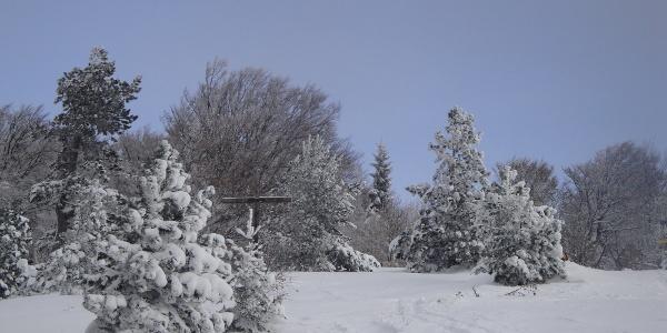 Kieneckgipfel im Winter