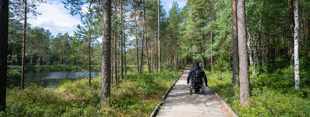 Nauti Suomen luonnosta esteettömästi