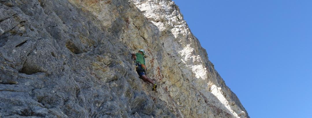 Alpinklettern in der Schneck-Ostwand