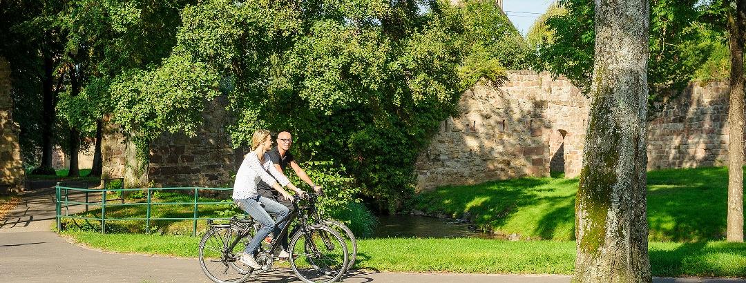 Wissembourg - Remparts à Vélo