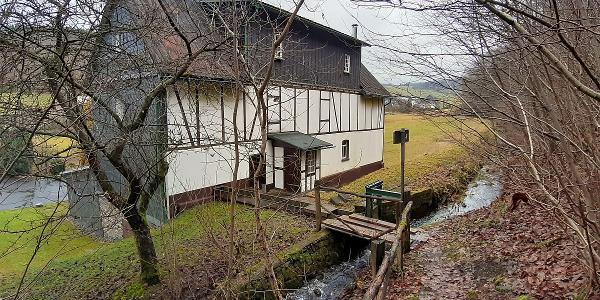 Wassermühle Nenkersdorf (Rückseite)