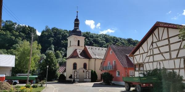 Klepsau - Dorfzentrum