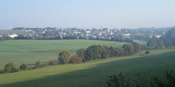 Panorama Bleialf, Foto Naturpark Nordeifel