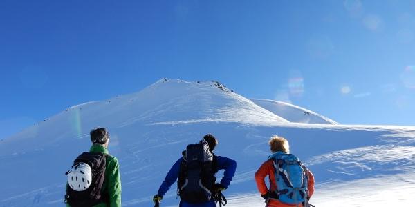 Letzter Aufstieg - Gipfelhang