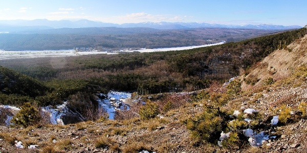 Blick vom Hauerberg nach Westen