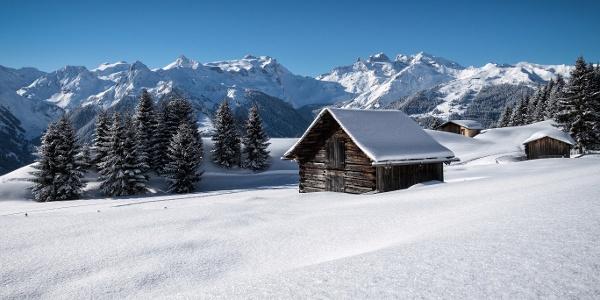 Winterlandschaft Bartholomäberg