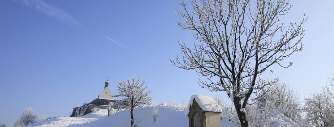 Wurmlinger Kapelle im Winterkleid