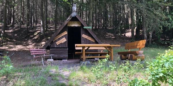 Schutzhütte am Sittichbrunnen / Silbachsgrund