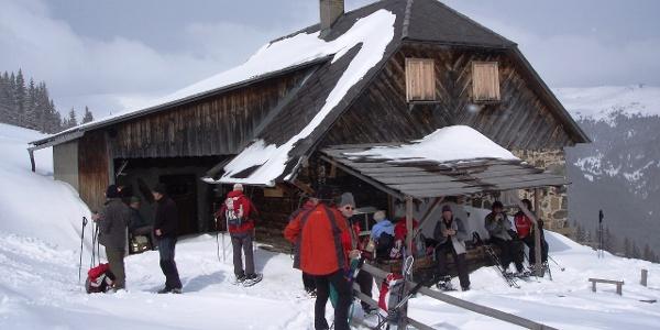 Saualpe - Ladinger Hütte