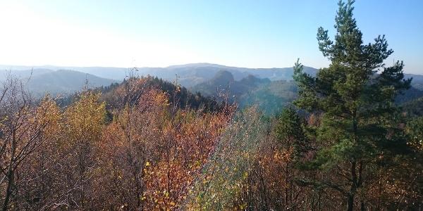 Aussicht vom Großen Pohlshorn