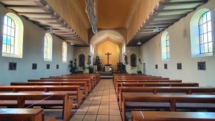Blick in die schöne St. Brigitta Kirche