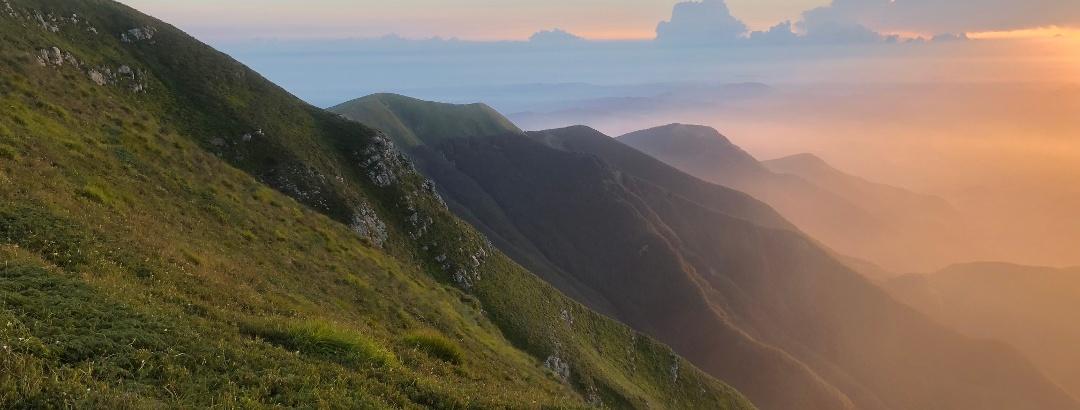 Natural park Corno alle Scale