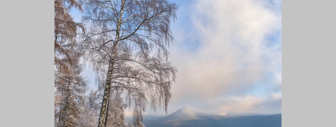 Kirschfelsen im Winter