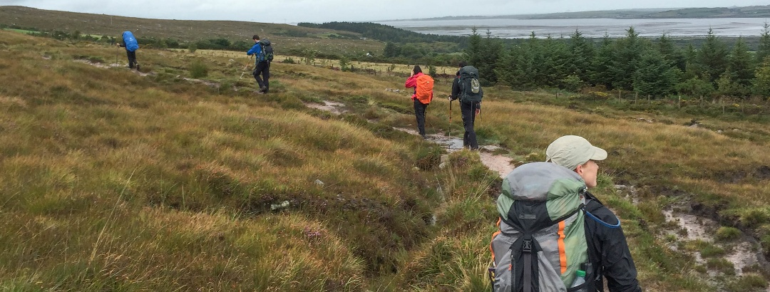 Dingle Way hikers, Ireland