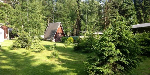 Finnhütten in Waldfrieden