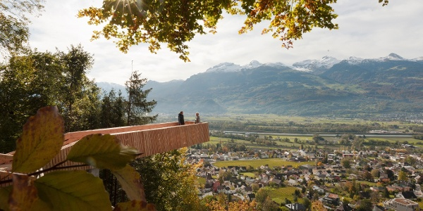 Aussichtsplattform Vaduz
