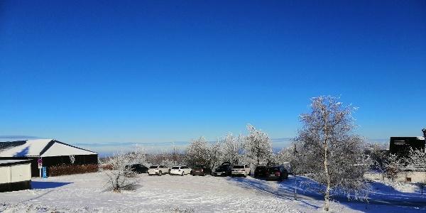 Parkplatz Hochmoorweg Zinnwald