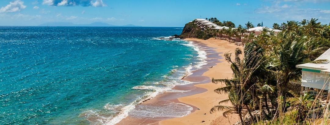 Strand von Antigua und Barbuda