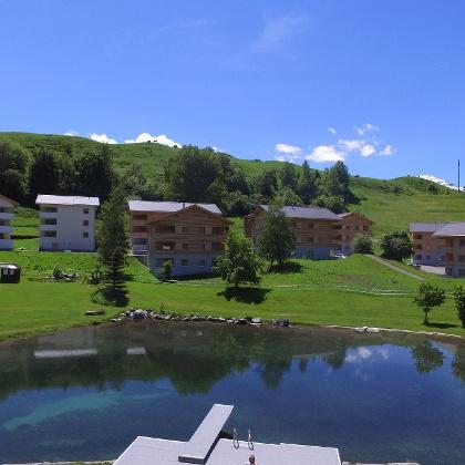 Pradas Resort, Brigels, Aussenansicht