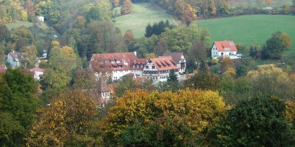 Blick auf Cröffelbach