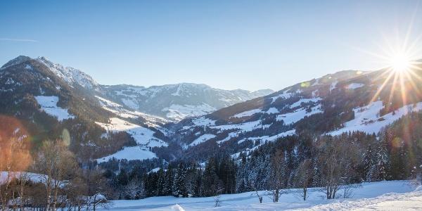 Blick vom Reither Kogel Richtung Alpbach