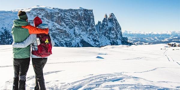 Escursione invernale Alpe di Siusi