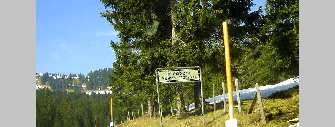 Riedberg Pass 1407m