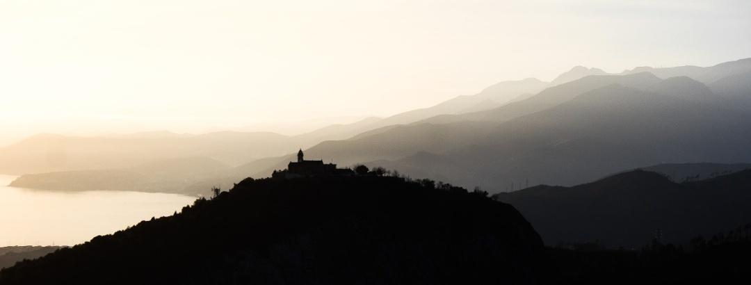 Vista sul Monte Gazzo, Genova