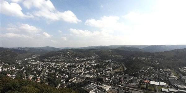 Blick vom Remmelsberg auf Werdohl